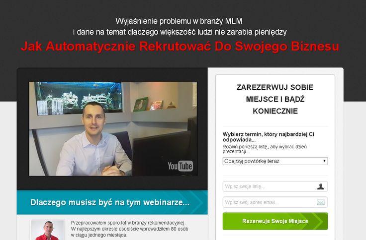 Zarezerwuj sobie miejsce już teraz  http://automatyzacja-biznesu.pl/rekrutuj-automatycznie/?id=846