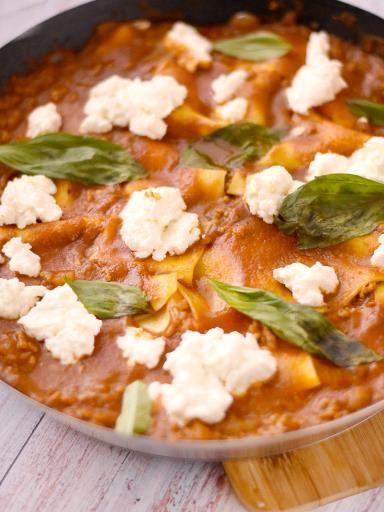 Lasagnes à la poêle : Recette de Lasagnes à la poêle - Marmiton