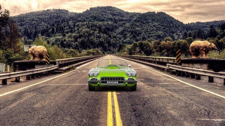 #Chevrolet #Corvette #Coupe 2958 en 3DTuning #3dtuning #tuning