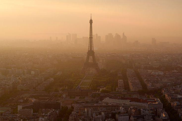 Szmog és naplemente Párizsban - PROAKTIVdirekt Életmód magazin és hírek - proaktivdirekt.com