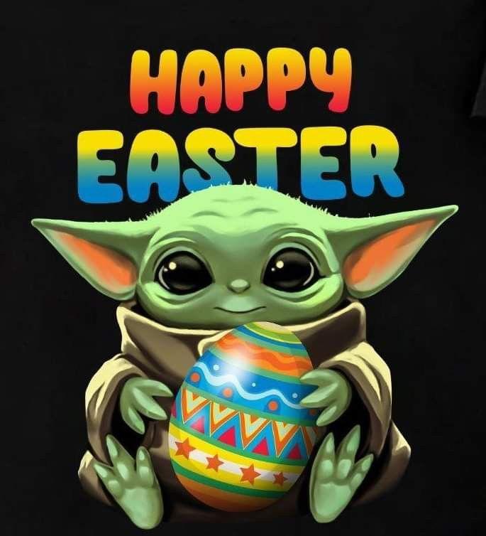 Pin By Tiffany On Holidays Yoda Meme Happy Easter Pikachu