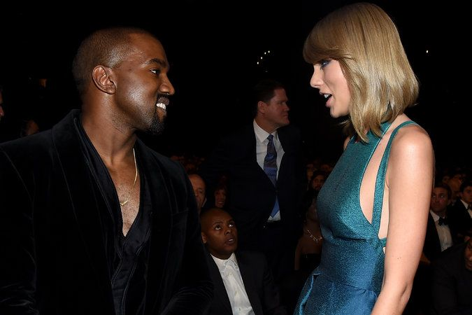 Kanye West and Taylor Swift Start a New Feud Over an Old Wound - The New York Times