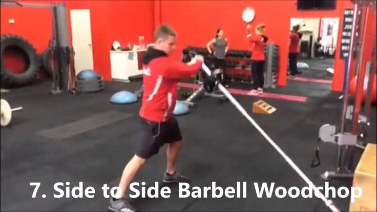 11 Of The Best Ways To Do The Woodchop Exercise From Easiest To Hardest
