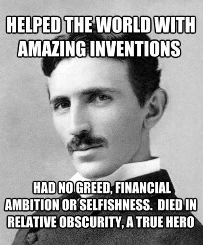 Hail Nikola Tesla... - Cheezburger                                                                                                                                                                                 More