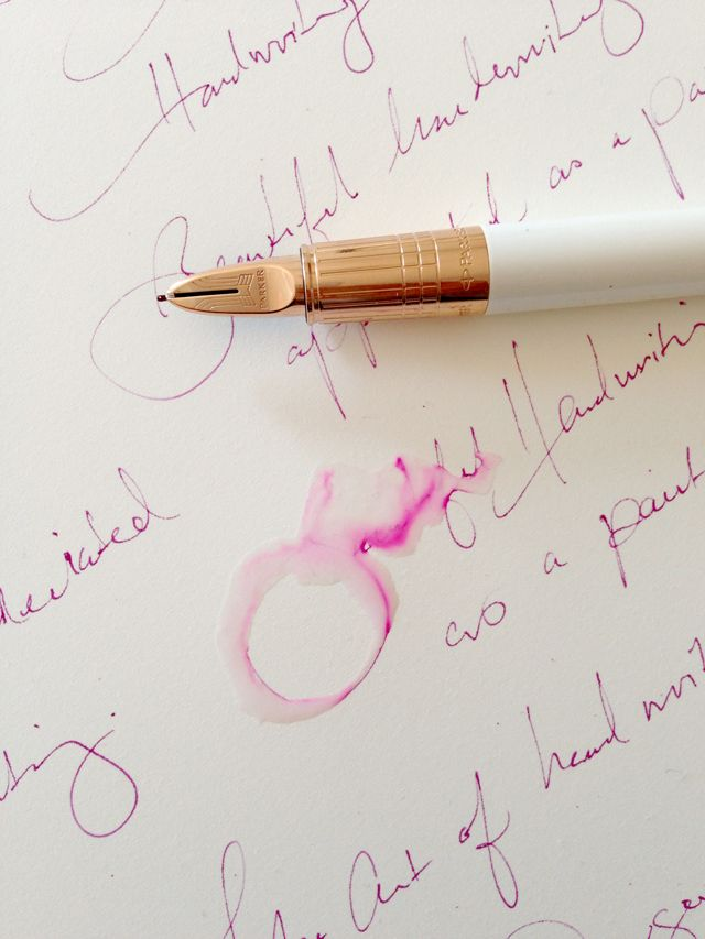 Parker Pen | The Art of Handwriting on PAPERFASHION Handwritten letters- everyone wants them!!