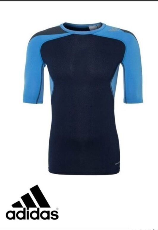 best loved 93f02 bbc71 adidas Men's Climacool Techfit Compression T Shirt BNWT free ...