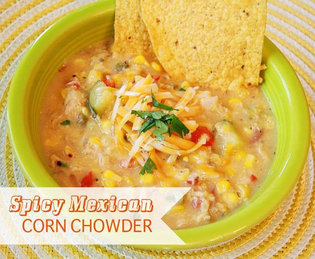 spicy mexican corn chowder more soups chowder chowder gluten chowder ...