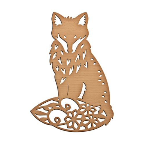 Shapeabilities Inspire Foxy Etched Dies