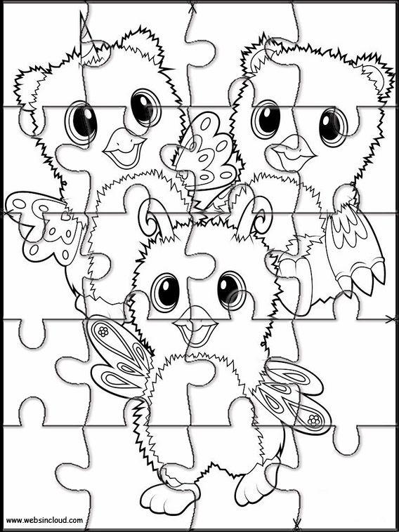 Puzzle à imprimer pour enfants Hatchimals 8 | A imprimer, Coloriage, Coloriage magique