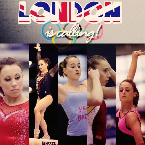 London is calling! (Italy's 2012 WAG Olympic team: Vanessa Ferrari,Erika Fasana,Carlotta Ferlito,Giorgia Campana,Elisabetta Preziosa)