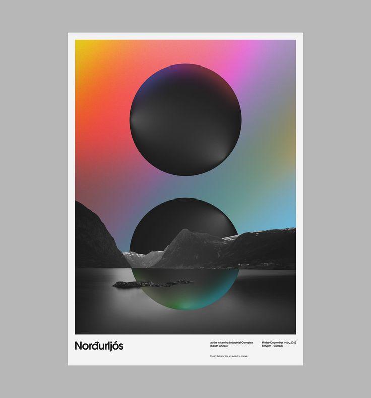 ✖ AIC: Norðurljós - Art & Design by D. Kim
