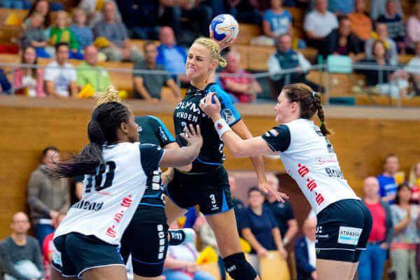 SG BBM Bietigheim bei Aufsteiger TV Nellingen. In der Handball-Bundesliga steigt in der Sporthalle 1 in Ostfilder ...