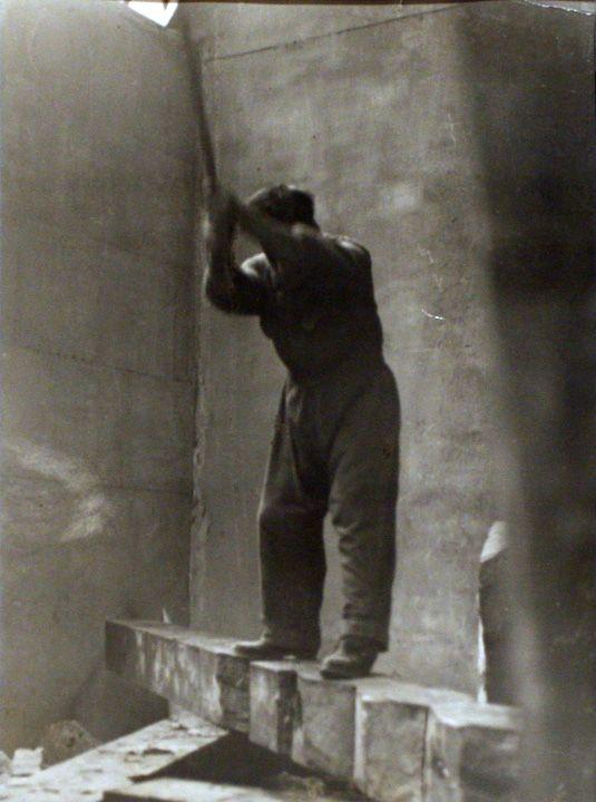 Constantin Brancusi, self-portrait, 1924