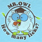 How many licks does it take to get to the center of a tootsie roll pop?  A one, a two, a three.