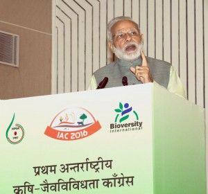 Latest India News Today : Narendra Modi inaugurates 1st International Agro-Biodiversity Congress 2016