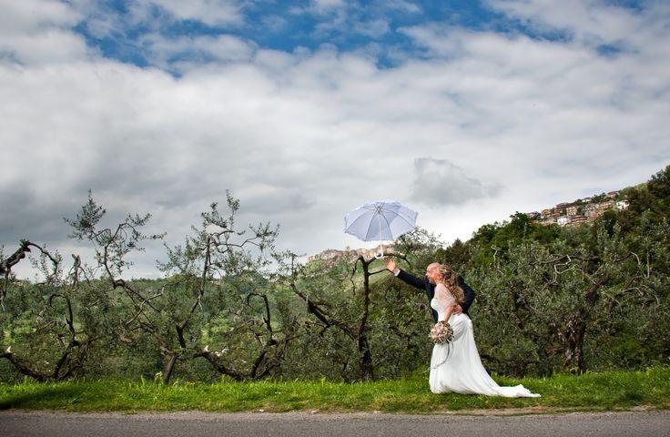 ... e l'ombrello vola via!