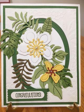 Botanical Suite Swap Card