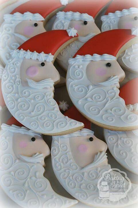 Santa cookies                                                                                                                                                                                 More