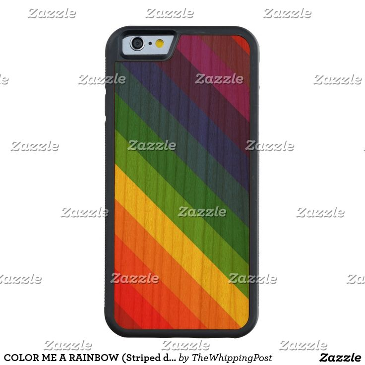 COLOR ME A RAINBOW (Striped design) ~