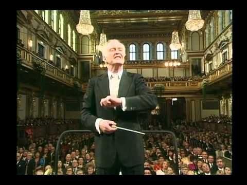 """New year's concert 1992 Carlos Kleiber Wiener Philharmoniker """"Dies ist eine Bewegung der Musik. Ich eröffne dir einen Freiraum für eine weitere Ebene der Interpretation.""""Er ist zu 100 Prozent da, aber nicht gebietend, er gibt keine Anweisung. Vielmehr genießt er, was der Solist spielt. Bei Kleiber geht es also um den Prozess. Bei Kleiber geht es um die Rahmenbedingungen."""