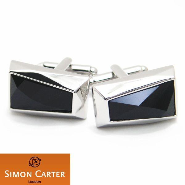 【サイモンカーター SIMON CATER】Crystal Wedge黒のカフス(カフリンクス/カフスボタン)【デザイナーコレクション】【あす楽対応】【送料無料】【楽ギフ_包装選択】【楽ギフ_メッセ入力】【楽天市場】