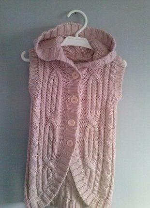 Kup mój przedmiot na #vintedpl http://www.vinted.pl/odziez-dziecieca/swetry-i-bluzy/18173366-kamizelka-z-kapturem-w-kolorze-bladego-rozu