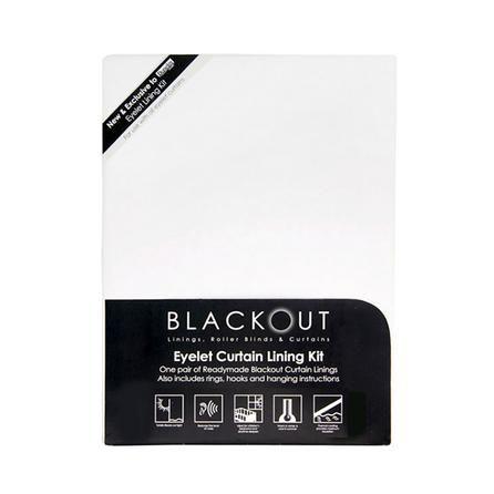 Blackout Eyelet Curtain Linings   Dunelm