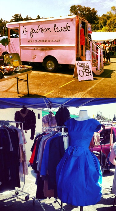 le fashion mobile boutique featuring local designers and consignment. ummm...yes please!!!