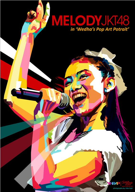 Melody JKT48 in WPAP by ~setobuje on deviantART