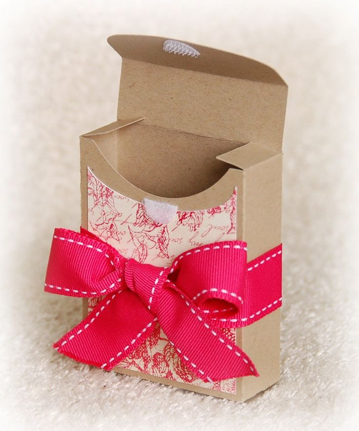 Crayon box or bandaid box (easy template). Great gift box for the little treats!!