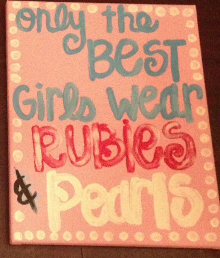 Always! <3 Rubies and Pearls Alpha Sigma Alpha