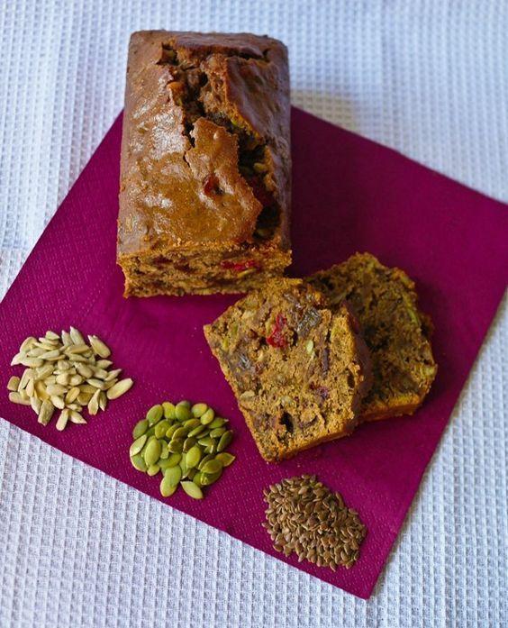 Vegetariancook: Фруктовый кекс на чайной заварке