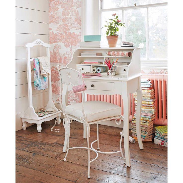 escritorio secreter blanco en 2019 maison du monde. Black Bedroom Furniture Sets. Home Design Ideas