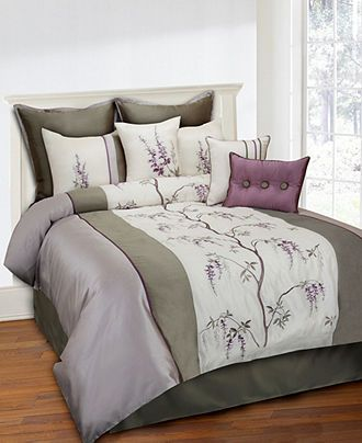 Closeout Brisbane 8 Piece Comforter Sets Bed In A Bag