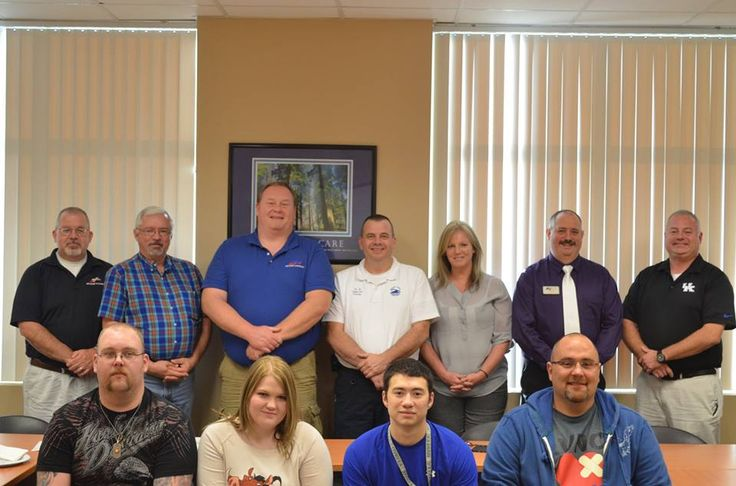 The first class of paramedic graduates at our Pikeville campus.