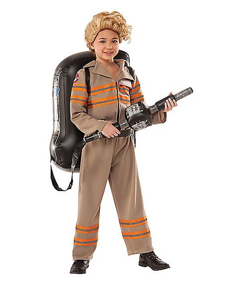 Kids Ghostbuster Costume Deluxe - Ghostbusters - Spirithalloween.com …
