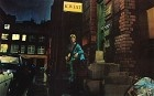 Ziggy Stardust hanging out in Heddon Street - rock icon