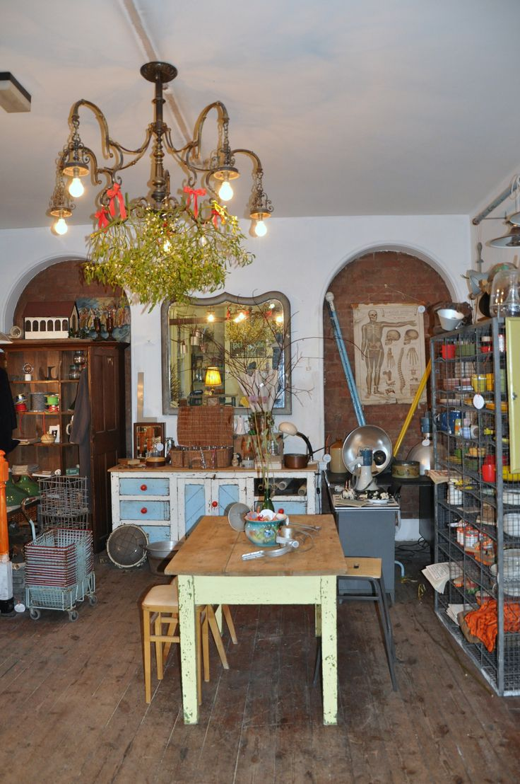 The Electric Shop, Hay-on-Wye.  10 businesses plus cafe in one situ.
