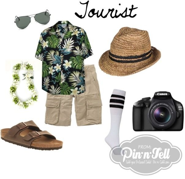 Raid your closet and make your own Halloween Costume: DIY Tourist