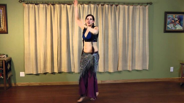 Tribal Style Belly Dance Lessons: Arabic Part 2 with Seba of WildCard Be...