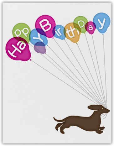 Paperless Post - Browse - Birthday Dog