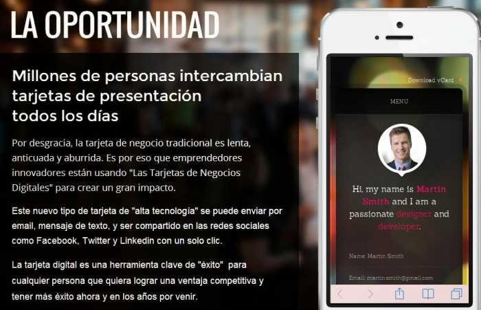 Tarjeta Virtual Personal (TVP)
