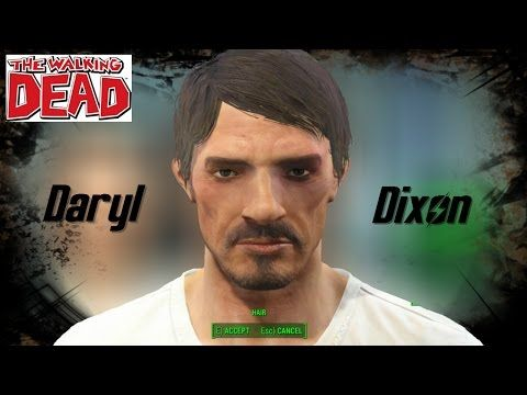 Fallout 4 l Character Creation Challange l Daryl Dixon - YouTube