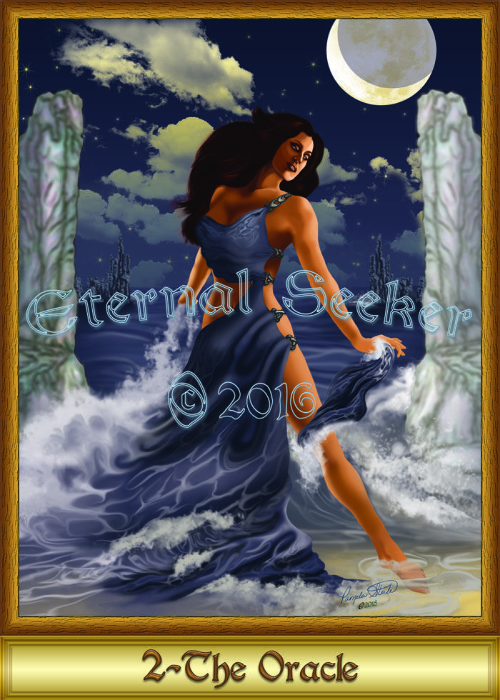 Dancing in the waters of the unconscious mind, the Oracle reveals the currents of our lives.