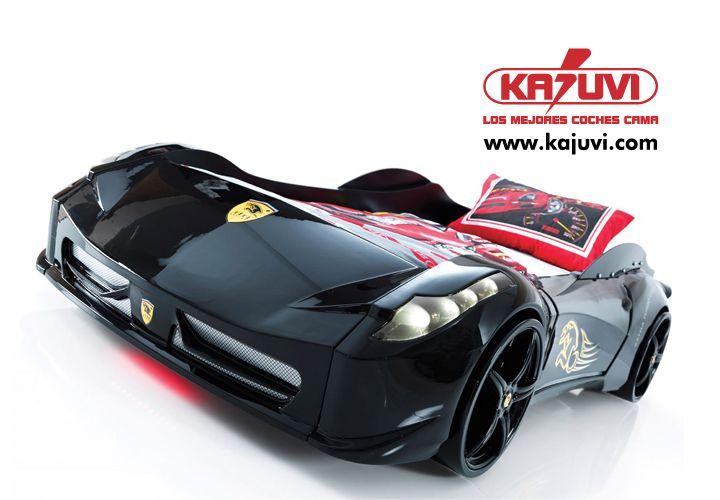 Coche cama F1 Spider black www.kajuvi.com