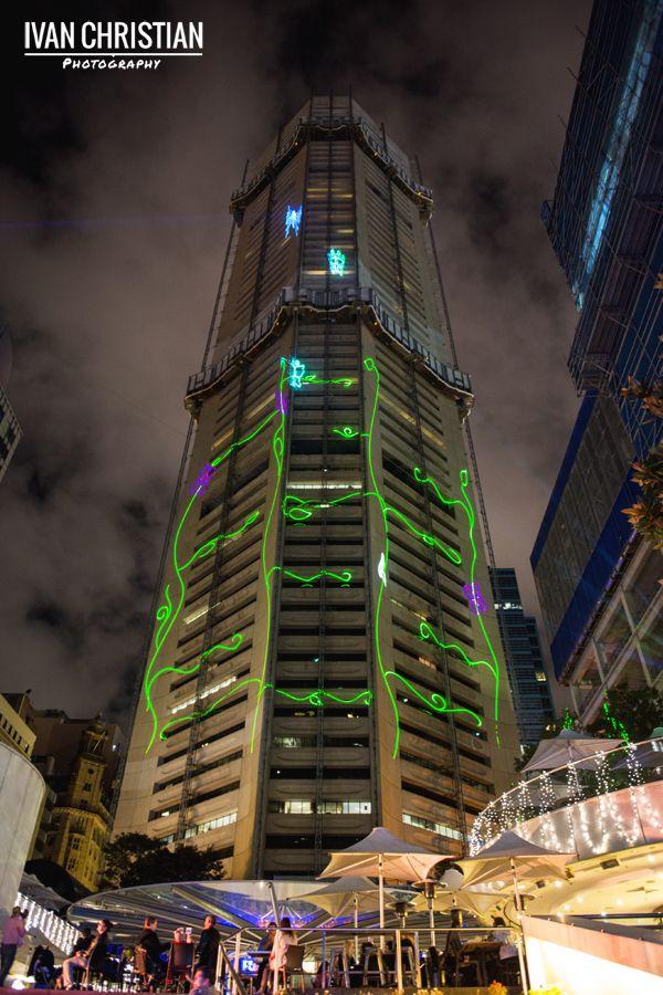 Vivid Sydney, MLC Tower, Martin Place - Ivan Christian Photography