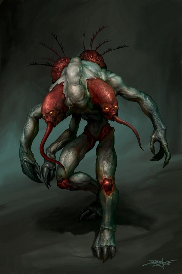 Doom 3 - Maggot by Zeeksie.deviantart.com on @deviantART