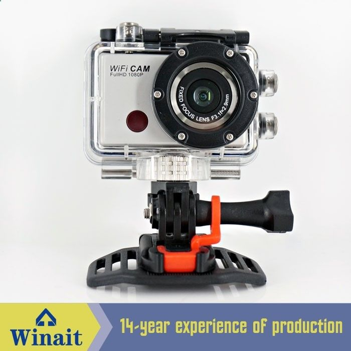76.99$ Watch more here - 1080p@30FPS Full HD Wireless Video Camera Sports Video Camera Wifi Helmet Camera mini action camera