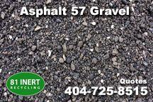 Longest lasting gravel for the least expense in Gwinnett County, GA, 57 asphalt gravel, asphalt crusher run, http://81inertrecycling.com/81-gravel-rip-rap-crush-run-georgia.html