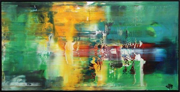 g hung fluides licht iv gerahmtes originalgemalde unikat gemalde kaufen original kunstgalerie wiener moderne künstler bilder auf leinwand